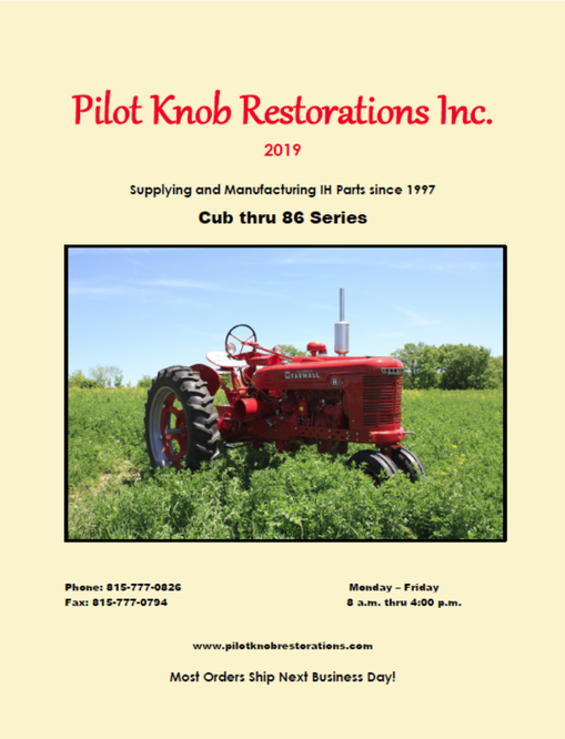 Products, International Harvester tractor parts, Case IH